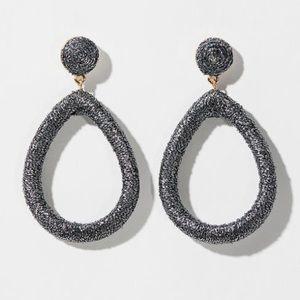 LOFT | Fabric Teardrop Earrings